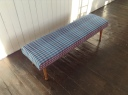 Bench or footstool for Cambrian Wool Challenge