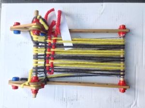 The micro-loom!