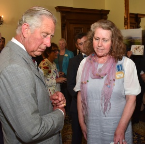 Private view of collection and reception with patron HRH Prince Charles