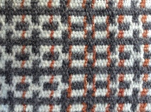 Detail of handwoven wool fabric for Interiors. Bristol Cloth Competition