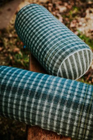 Bolster cushions in Shetland Wool 2016 Image copyright Chris Boulton